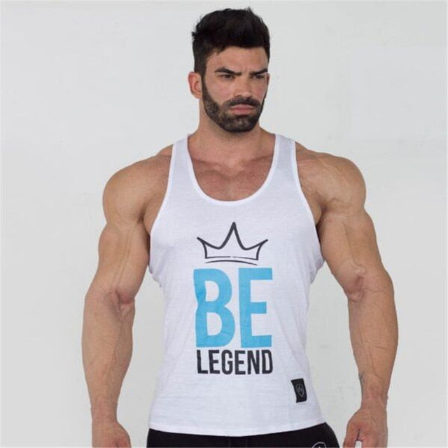 2018 New brand Men Bodybuilding Tank Tops Sleeveless Gyms fitness Clothing Singlet Cotton Shirts Summer Fashion Workout Clothes-geekbuyig