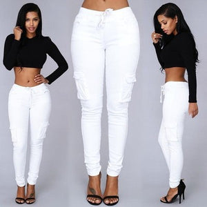 Elastic Sexy Skinny Pencil Jeans For Women Leggings Jeans Woman High Waist Jeans Women's Thin-Section Denim Pants-geekbuyig