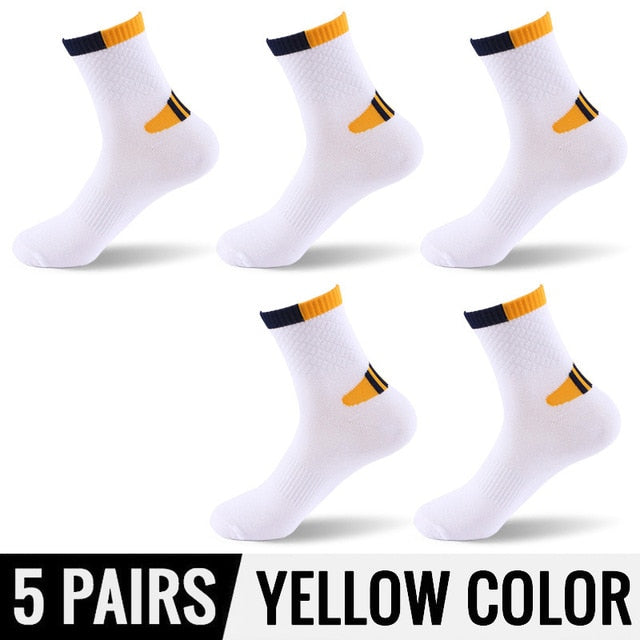 High Quality Professional men's socks Comfortable Elasticity Breathable Mountain Trekking Bicycle Cotton Socks For men boy-geekbuyig