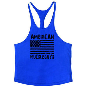 Golds Vest Mens Sleeveless Shirt Bodybuilding Stringers Tank Top Fitness Singlets power Sporting Undershirt Animal gyms Clothing-geekbuyig