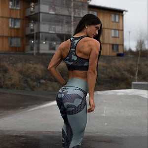 New Fashion Women Fitness leggings Woman Camouflage work out Sweatpant pants Femme leggins Sweatpants athleisure jeggings-geekbuyig