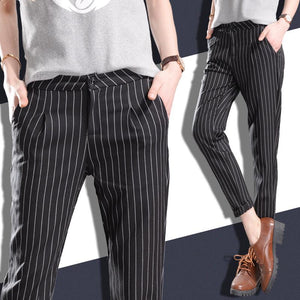 2018 Casual Loose Harem Pants Women Trousers Western-style Ol Formal Suit Pants Nine Pants Pantalones Deportivos Mujer Female-geekbuyig