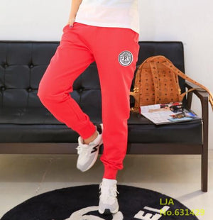 Plus Size 2018 New 100% Cotton Pants Women Deportes Pants Casual Loose Thin Trousers Ankle Length Pancil Pantalones S-XXL-geekbuyig