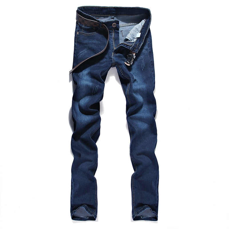 2018 Fashion New Men's Casual Stretch Jeans / Man's cats must be jeans denim pants trousers / size 28-36-geekbuyig