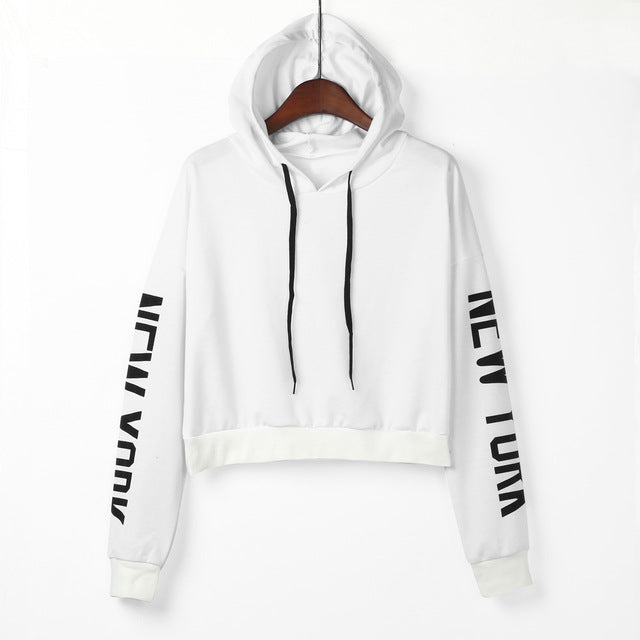Womail Womens Letters Long Sleeve Hoodie Sweatshirt Pullover Tops Casual Sweatshirts Polyester Blouse Gift Jan 25 Drop Ship-geekbuyig