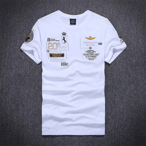 New Model new fashion fitness embroidery aeronautica militare men PoloS famous brand clothing Air Force One mens Polo homme-geekbuyig