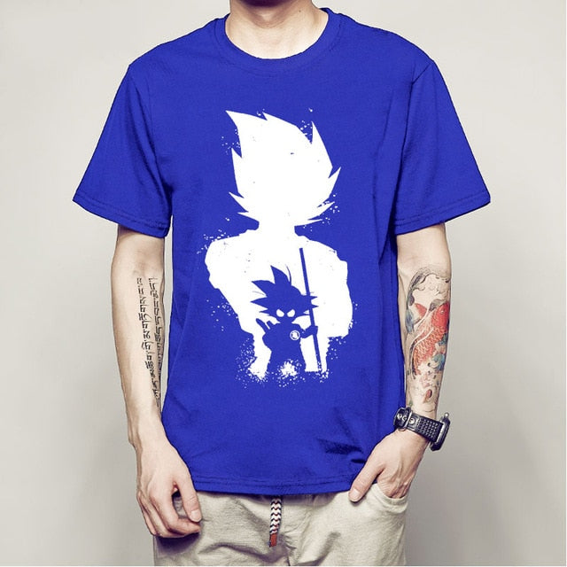 Anime Dragon Ball Z Vegeta Super Saiyan Goku Piccolo 3D T Shirt Men Costume casual Tee T-Shirt Men camiseta-geekbuyig