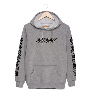 KPOP Korean Fashion IKON BOBBY SOLO HOLUP Album Cotton Hoodies With Hat Clothes Pullovers Sweatshirt PT212-geekbuyig