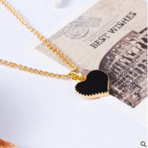 New Fashion retro 3 color heart pendant necklace lucky jewelry accessories best selling in 2018 8ND337-geekbuyig