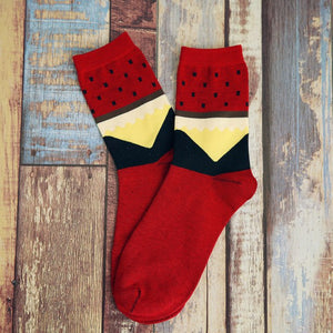 The new trend of Man socks in tube socks dot socks Colorful Cotton Flax EUR39-44-geekbuyig