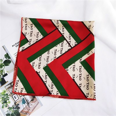 2018 50 Square Kerchief Foulard Horse Scarf Women Small Cute Rabbit Headband Luxury Brand Scarves Female Neck Wrap 50*50cm NEW-geekbuyig
