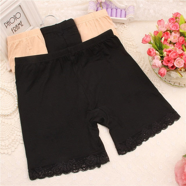 FASHION 3 Colors 2 Sizes Sexy Women Trousers Short Trousers Under Leggings-geekbuyig