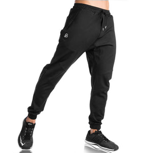 2018 Autumn Winter New Men Pants Gyms Casual Elastic Cotton Mens Fitness Workout Pants Skinny Sweatpants Trousers Jogger Pants-geekbuyig