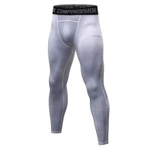 2018 New Compression muscle Elastic Pants Workout Tights Men Leggings Fitness G ym Clothing Tops Exercise Male Slim Trousers-geekbuyig