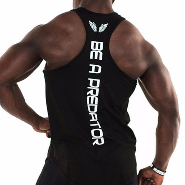 2018 NEW Summer Bodybuilding Stringer Tank Tops Men ZYZZ Fitness Singlets Golds Gyms Clothing Muscle Shirt Vest Tank tops-geekbuyig