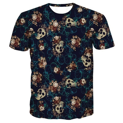 ONSEME Religion Buddha Elephant 3D T Shirt Tops Dreamcatcher Eagle Prints T Shirts Cute YinYang Cat Tees Men Harajuku Tee Shirts-geekbuyig