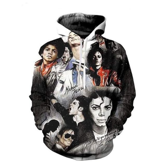 3d Hoodies Men Women Michael Jackson Thriller Jacket Printing Sweatshirt Hooded Streetweargeekbuyig-geekbuyig