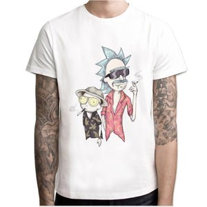 pickle rick t-shirt mens Rick and morty New Anime funny t-shirt Summer T Shirt rick morty Cool Tshirts Tops Tees Homme-geekbuyig