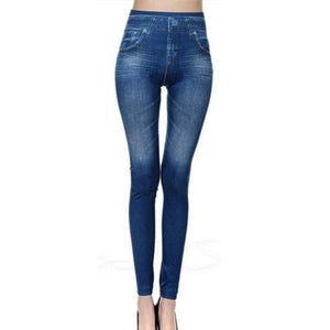 2017 New Fashion Jeans Women Pencil Pants High Waist Jeans Sexy Slim Elastic Skinny Pants Trousers Fit Lady dropshipping-geekbuyig