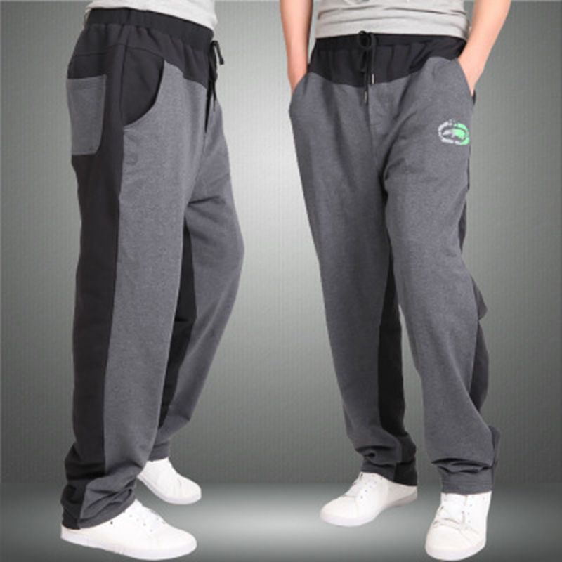Men Plus size 9XL 8XL 7XL 6XL 5XL Casual Pants Male Trousers pants Straight Summer Health Pants sweatpants Male Trousers-geekbuyig