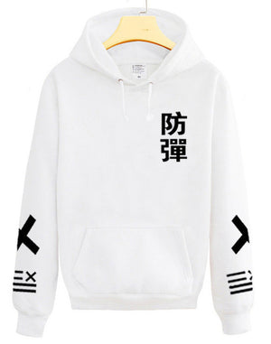 BTS Kpop Sweatshirt Women Korean Popual Bangtan Boys Autumn Winter V Same Style Hip Hop Fleece Hoodies Sweatshirts-geekbuyig