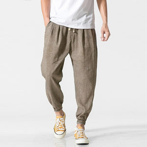INCERUN Plus Size S-5XL Men Harem Pants Joggers Casual Wide Legs Trousers Loose Fitness Pant Male HipHop Harajuku Summer Brand-geekbuyig