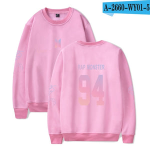 LUCKYFRIDAYF Harajuku BTS Kpop Love Yourself JIN 92 Hoodies Women Korean Bangtan Sweatshirt Winter oversized hoodies Clothes 4XL-geekbuyig