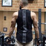 2018 New Bodybuilding Cotton Gyms Fitness Stringer Patchwork Men Muscle Sleeveless Vest Undershirt Tank Tops Sportswear-geekbuyig