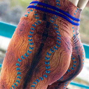 2018 Colorful Traingles Printed Women Leggings Sexy Female Leggings Mujer Pants Fitness High Elastic Bodybuilding Leggins Trouse-geekbuyig