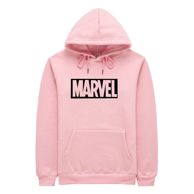 2018 New Brand Marvel Ms Fashion Casual Hoodies Sweatshirt Women Pink Skate Cotton Hoodie Women Sweatshirt S-2XL-geekbuyig