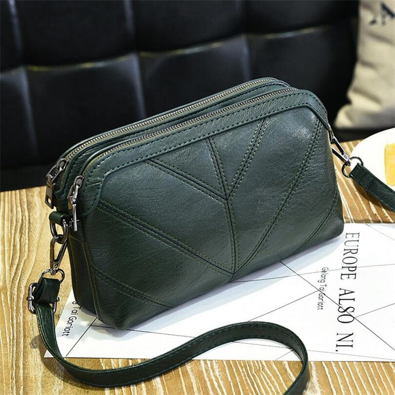 BARHEE 2018 High Quality Leather Women Handbag Luxury Messenger Bag Soft pu Leather Fashion Ladies Crossbody Bags Female Bolsas-geekbuyig