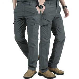 Military Pants Men Summer Quick-Drying Breathable Track Cargo Pants Male Joggers Mens Casual Army Pockets Trousers 4XL Pantalon-geekbuyig