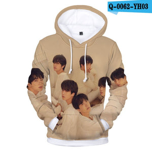 BTS New Album BTS LOVE YOURSELF Turn Tear 3D Print Casual Loose Sweatshirt Hoodie Men's/Women's Clothing Q0060-Q0064-geekbuyig