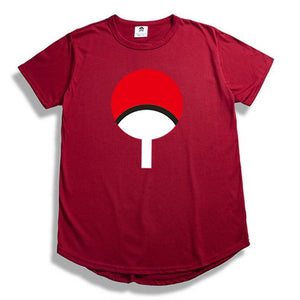 Extended Round hem T-shirt Fashion Hip hop Naruto t shirt Streetwear dragon ball t shirt camisetas hombre Men women Tees shirt-geekbuyig