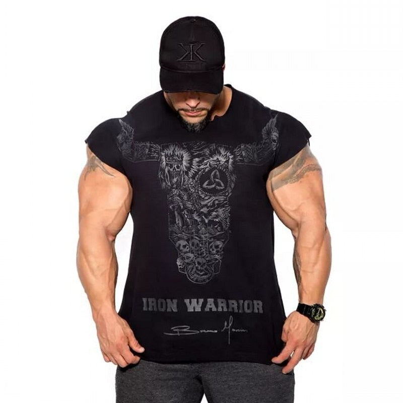 2018 BULKING Brand Men cotton t shirts fashion Casual gyms Fitness workout Short sleeves tees 2018 summer new male tops clothing-geekbuyig