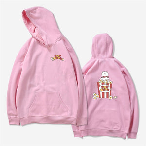Newest Idol Clothes BTS Love Yourself BT21 Hoodies Mens Kpop Hip-hop Popular Sweatshirts K-pop Bangtan Boy Cartoon Hoodie-geekbuyig