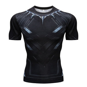 Deadpool 2 3D Printed T shirts Men Compression Shirt 2018 New Fun Deadpool Cosplay Costume Short Sleeve Crossfit Tops For Male-geekbuyig