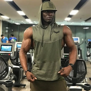 Summer style mens tank tops gyms Fitness Bodybuilding sleeveless Undershirt Casual Fashion Stringer vest singlets sportswear-geekbuyig