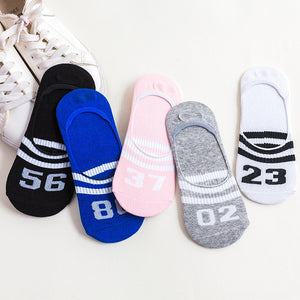 Colorful fruit Invisible Short Woman Sweat summer comfortable cotton girl women's boat socks ankle low female 1pair=2pcs ws172-geekbuyig
