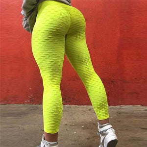 NORMOV Solid High Waist Leggings Women Workout Sexy Push Up Breathable Fitness Clothing Stretch Classic Trousers Female 3 Color-geekbuyig