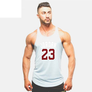 2018 Gyms Tank Tops Mens Undershirt Sporting Wear Bodybuilding Men Fitness Exercise Clothing Vest Sleeveless Shirt-geekbuyig