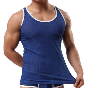2018 Brand Summer Mens Tank Tops Sleeveless Men Fitness Tank Top Man Thread Tank Tops Heren Tanktops Camiseta Tirantes Hombre-geekbuyig