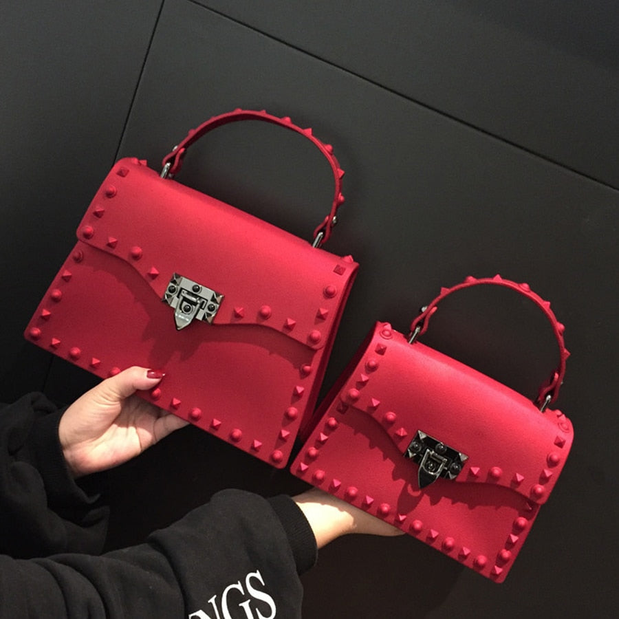 2018 New Women Messenger Bags Luxury Handbags Women Bags Designer Jelly Bag Fashion Shoulder Bag Females PU Leather Handbags-geekbuyig