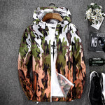 Men Light Jacket Hoodie Coats 2018 Stylish Fashion Men Women Hooded Thin Windbreaker Zipper Coat-geekbuyig