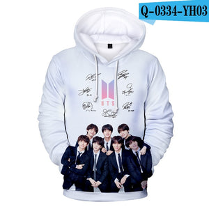 LUCKYFRIDAYF 2018 BTS Kpop Hot Sale 3D Hoodies Sweatshirts Print Harajuku Women/Men RM/JIMIN Hoodies Sweatshirt Fashion Clothes-geekbuyig