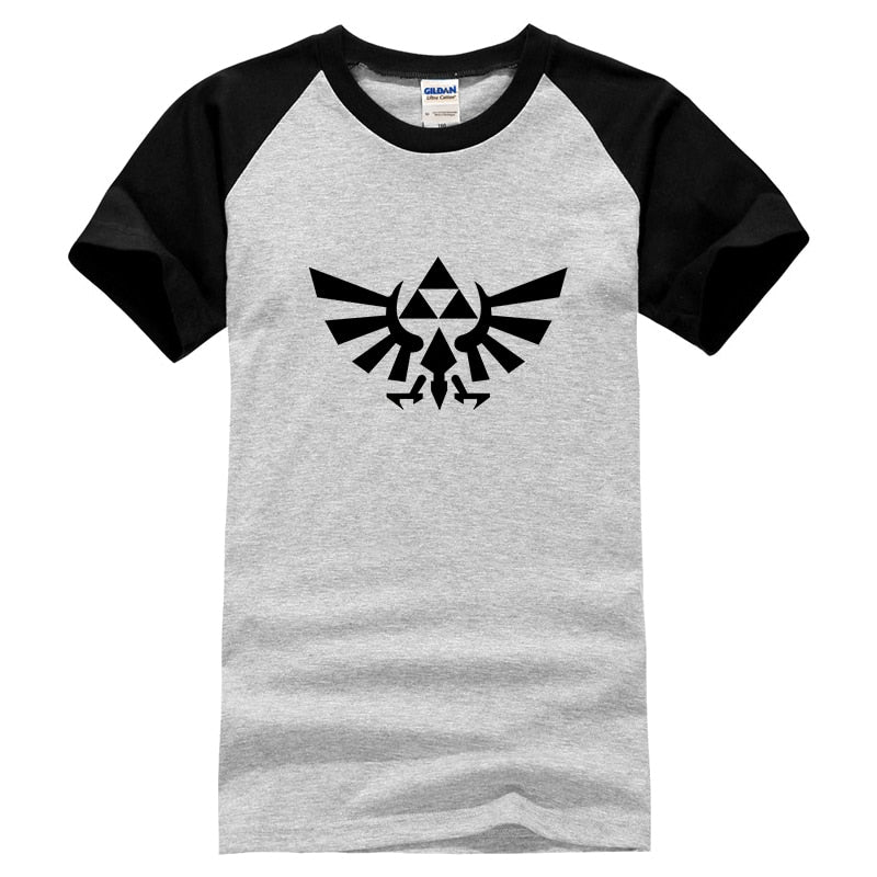 The Legend Of Zelda T Shirts Men Game Swag Man T-shirts Summer High Quality Cotton Mens Tshirts Cartoon Tops Cool Tees-geekbuyig