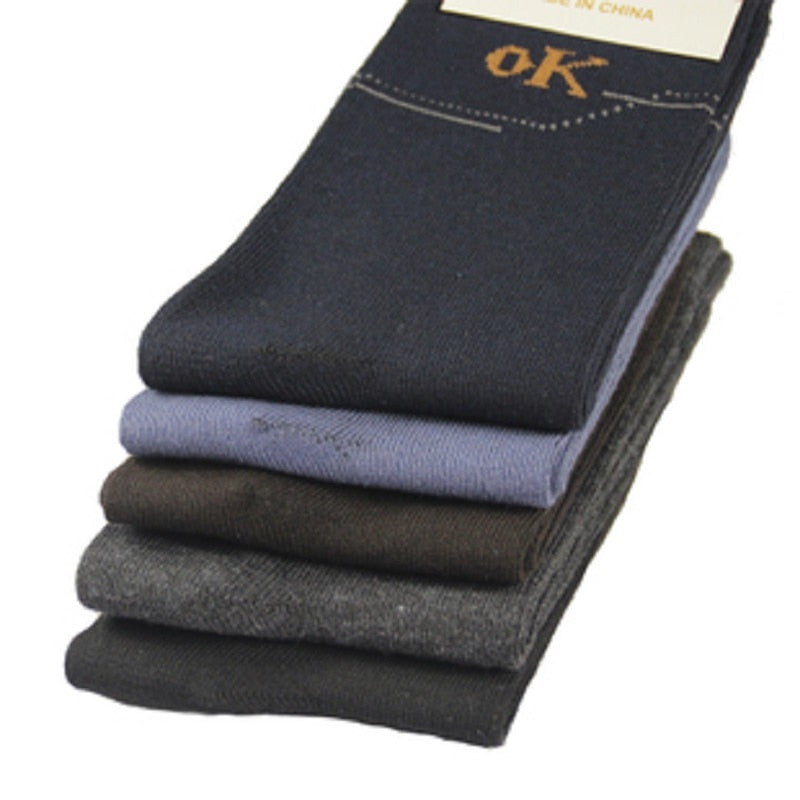 10 pairs/lot men socks autumn winter male socks thermal compression in tube cotton socks men's socks casual meias masculinas-geekbuyig