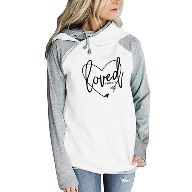 2018 New Fashion Love Print Hoodies Women Kawaii Sweatshirt Femmes Female Youth Thick Girls Plus Size Street Sweet Pullovers-geekbuyig