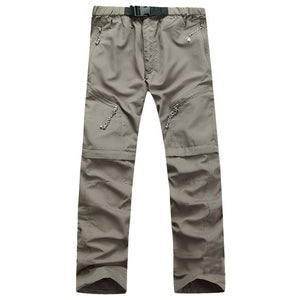 Quick Dry Outwear Pants Men Removable FishingHikingCamping Breathable Pants Mens Brand UV Protection Pant Active army Trousers-geekbuyig