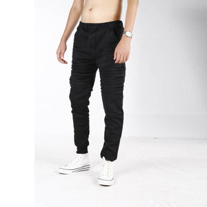 Men Casual Sportwear Pants Baggy Jogger Pants Slacks Dance Trousers 35eatpants mens warm pants for winter/spring #30-geekbuyig